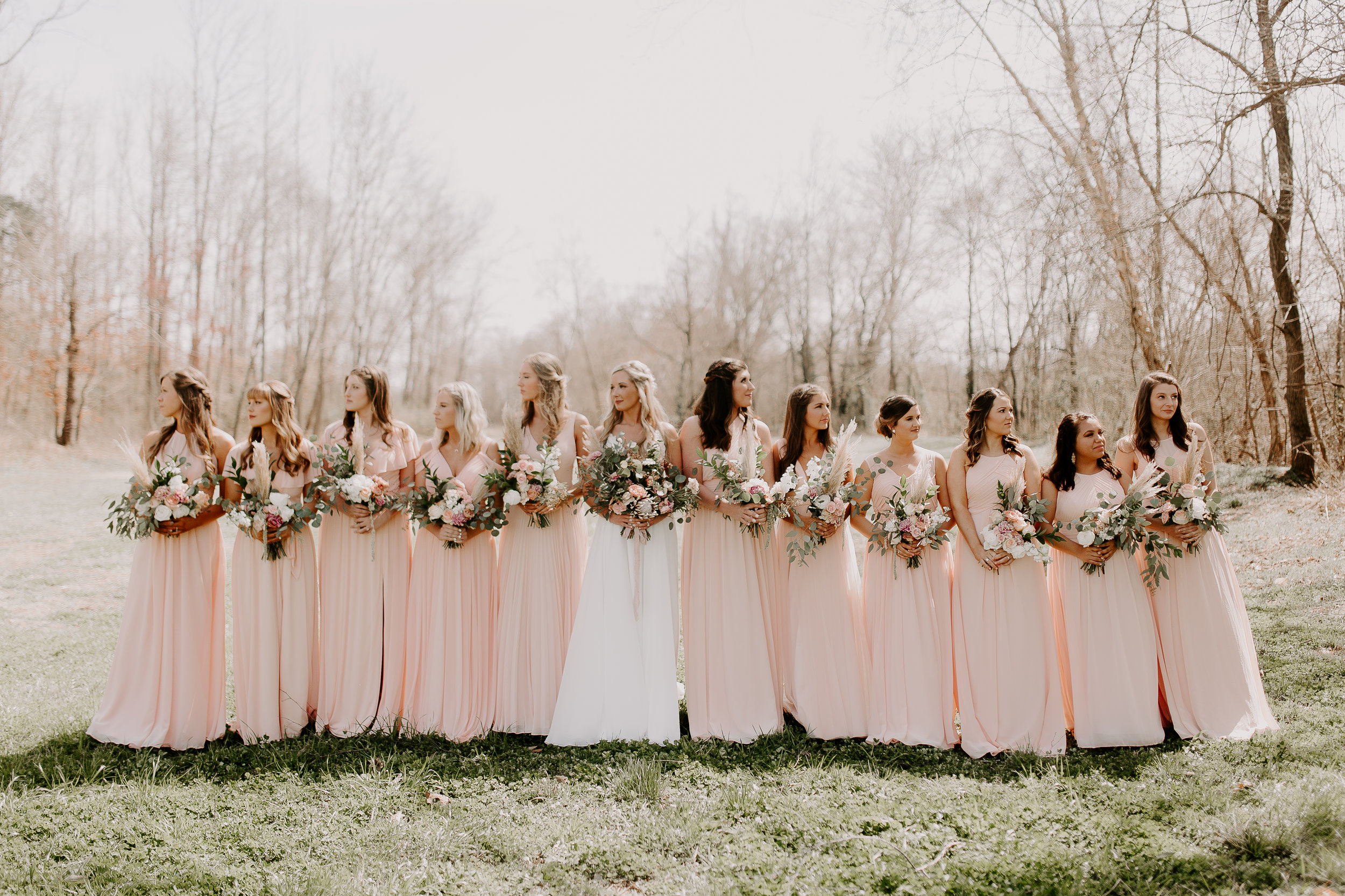 Spring Blush Pink Wedding