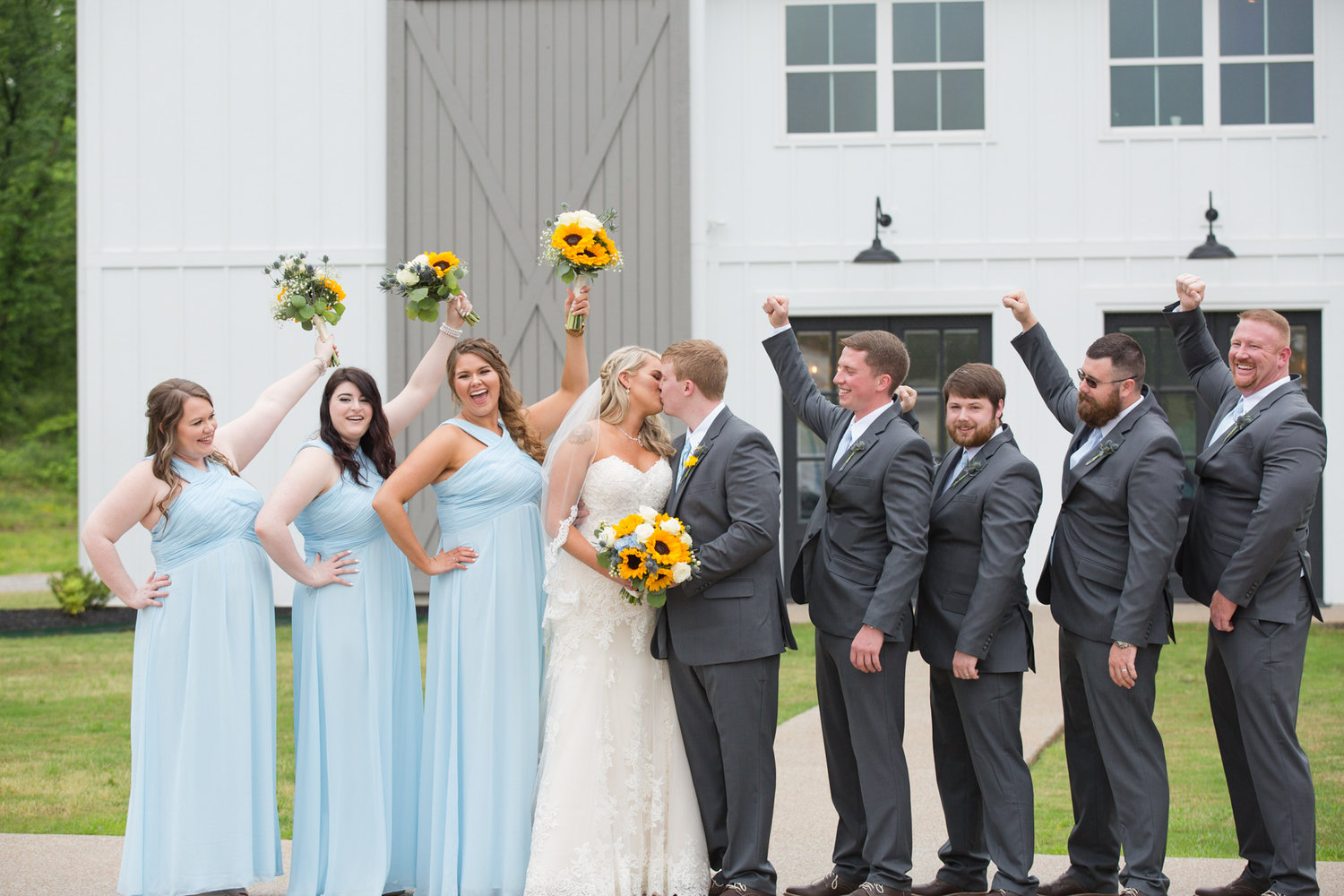 Spring Sunflower Destination Wedding