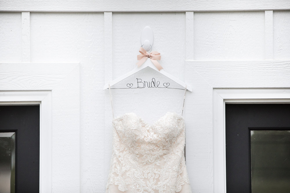 Custom Bride Hanger
