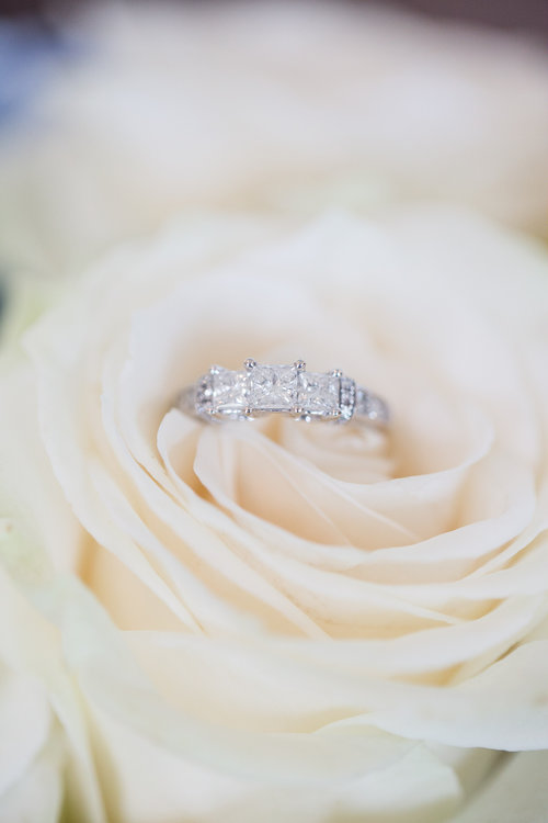 Wedding Ring in flowers