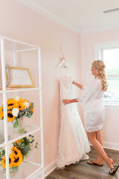 Bridal Suite Tennessee Wedding