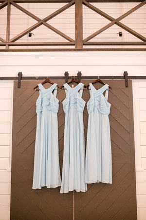 Bridesmaids Dresses Sky Blue