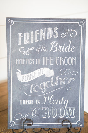 Wedding Party Welcome Sign