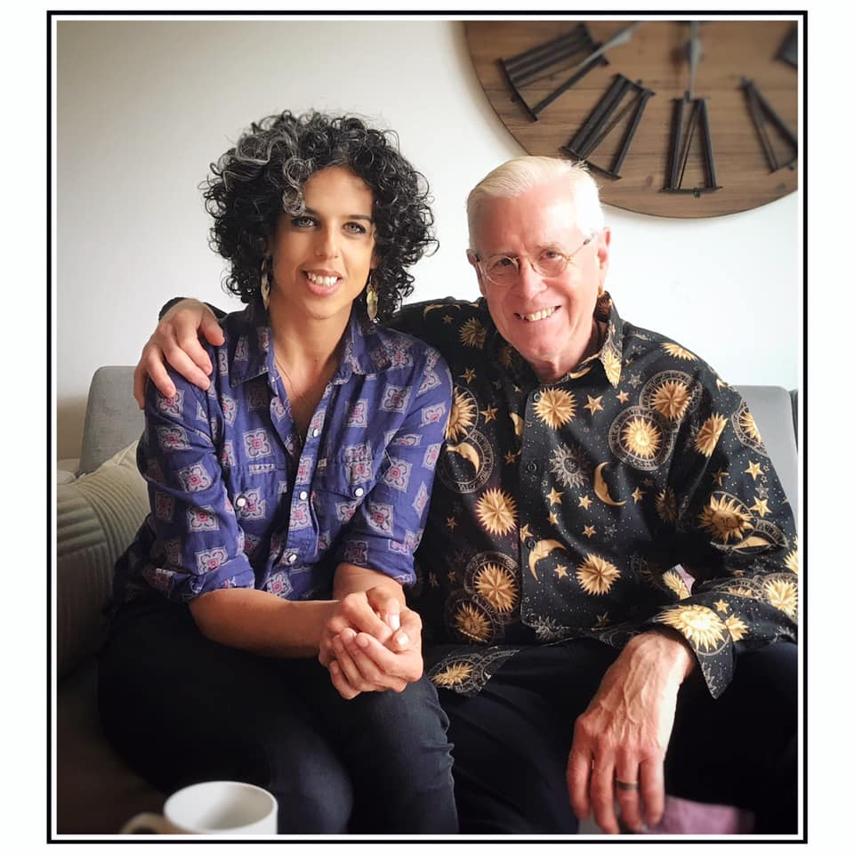 MG with pal Bruce Cockburn