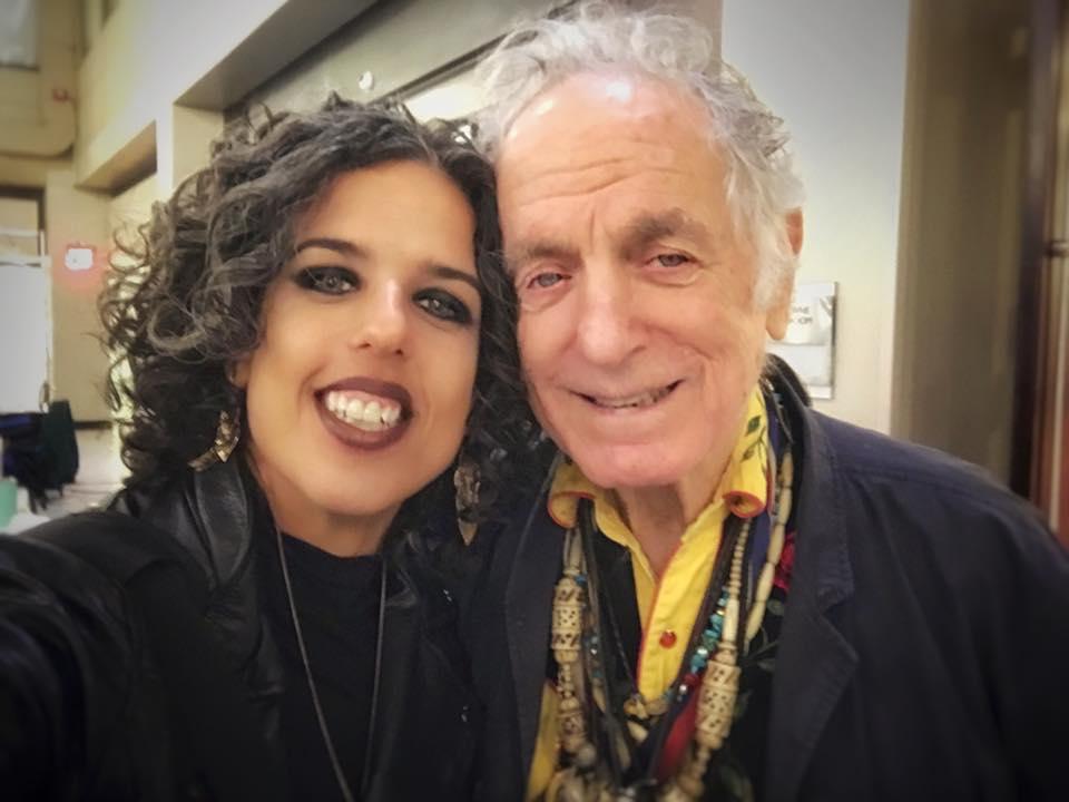 MG with David Amram