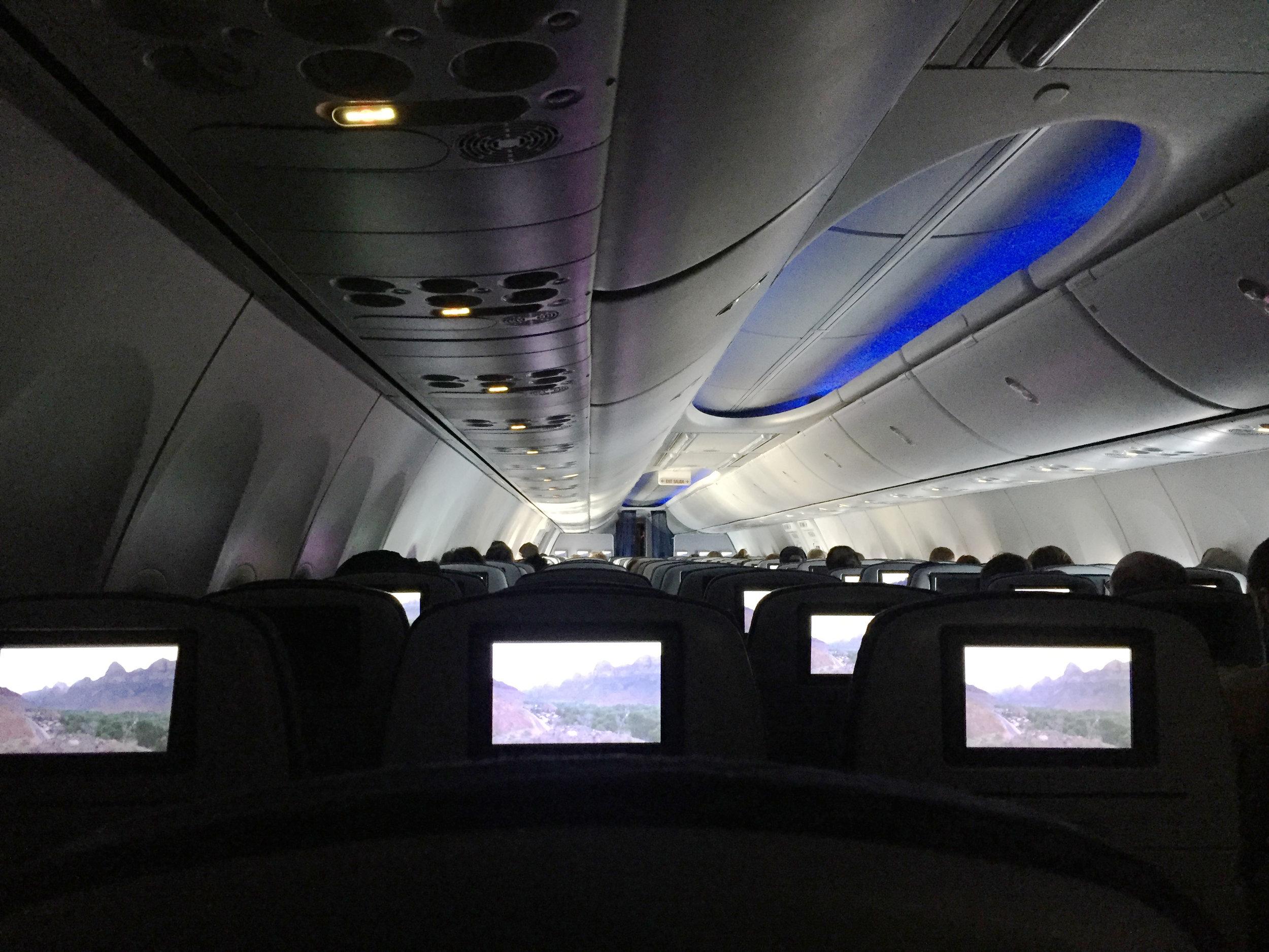 Empty Flight to SFO.