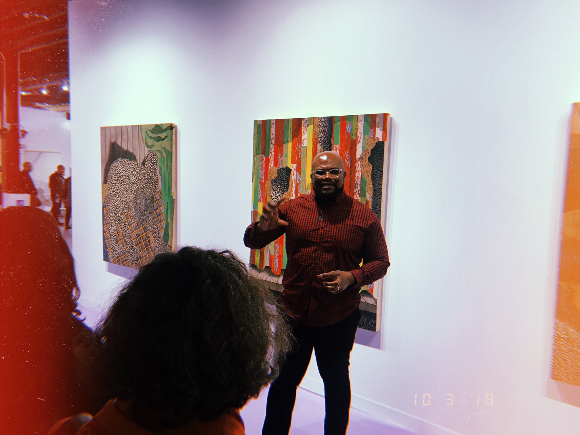 Didier William (@dueyart) talking about his art