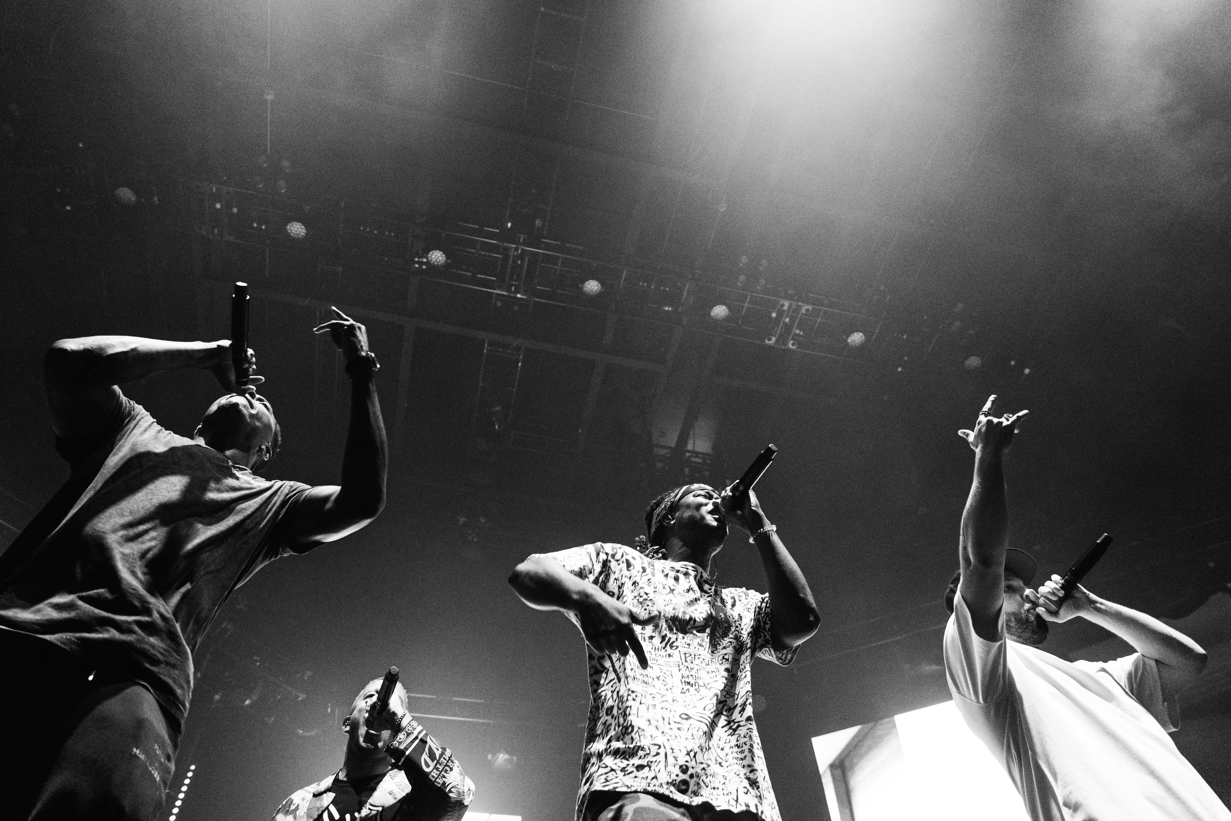 Lecrae, Gawvi, KB, and Andy Mineo