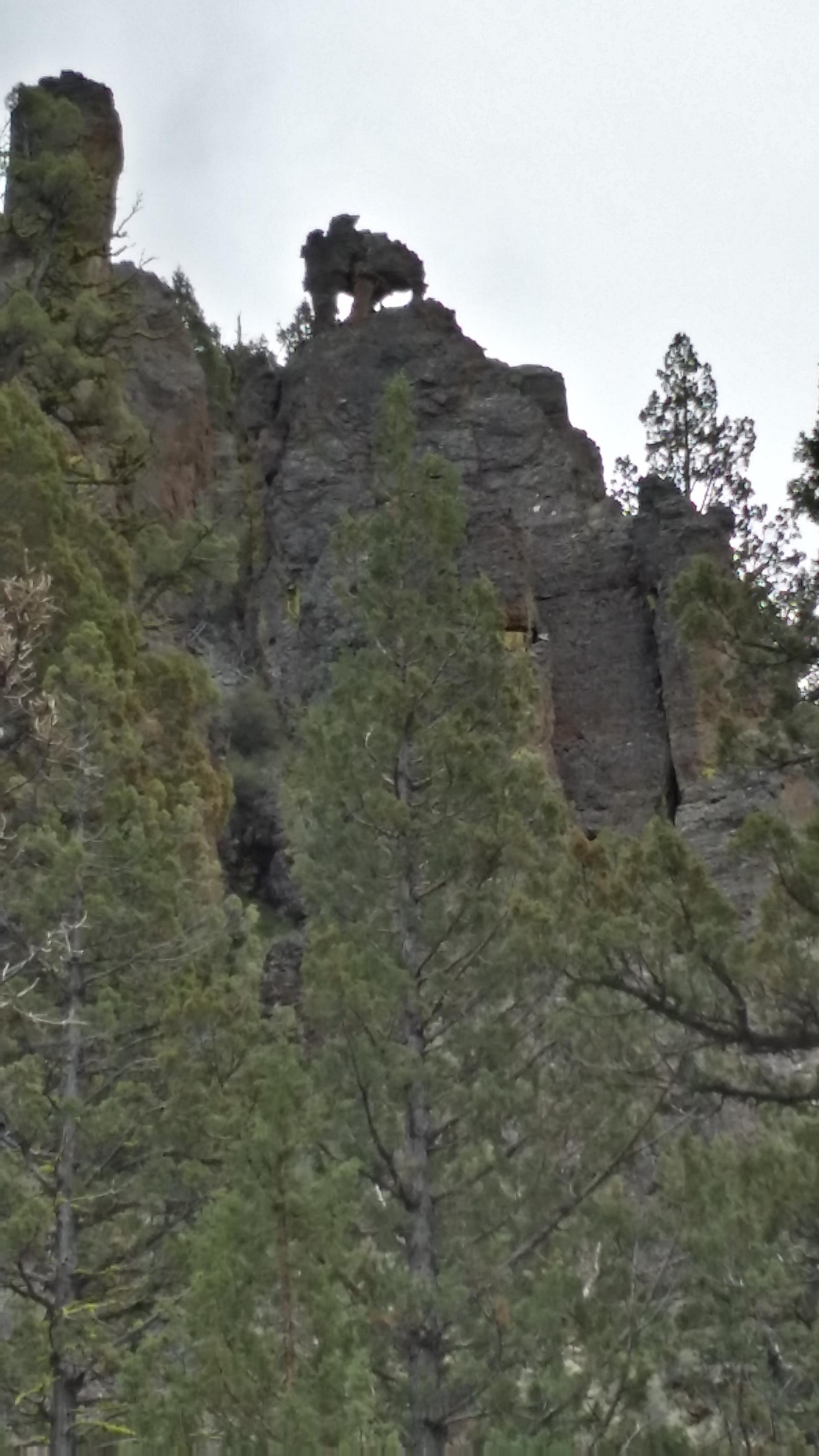Strange rock formations