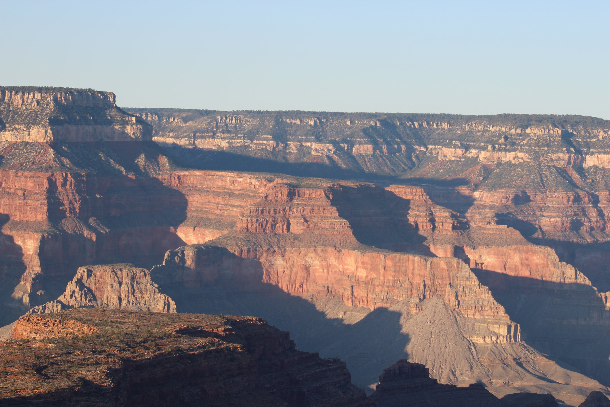 The reliably beautiful sunset at Grand Canyon