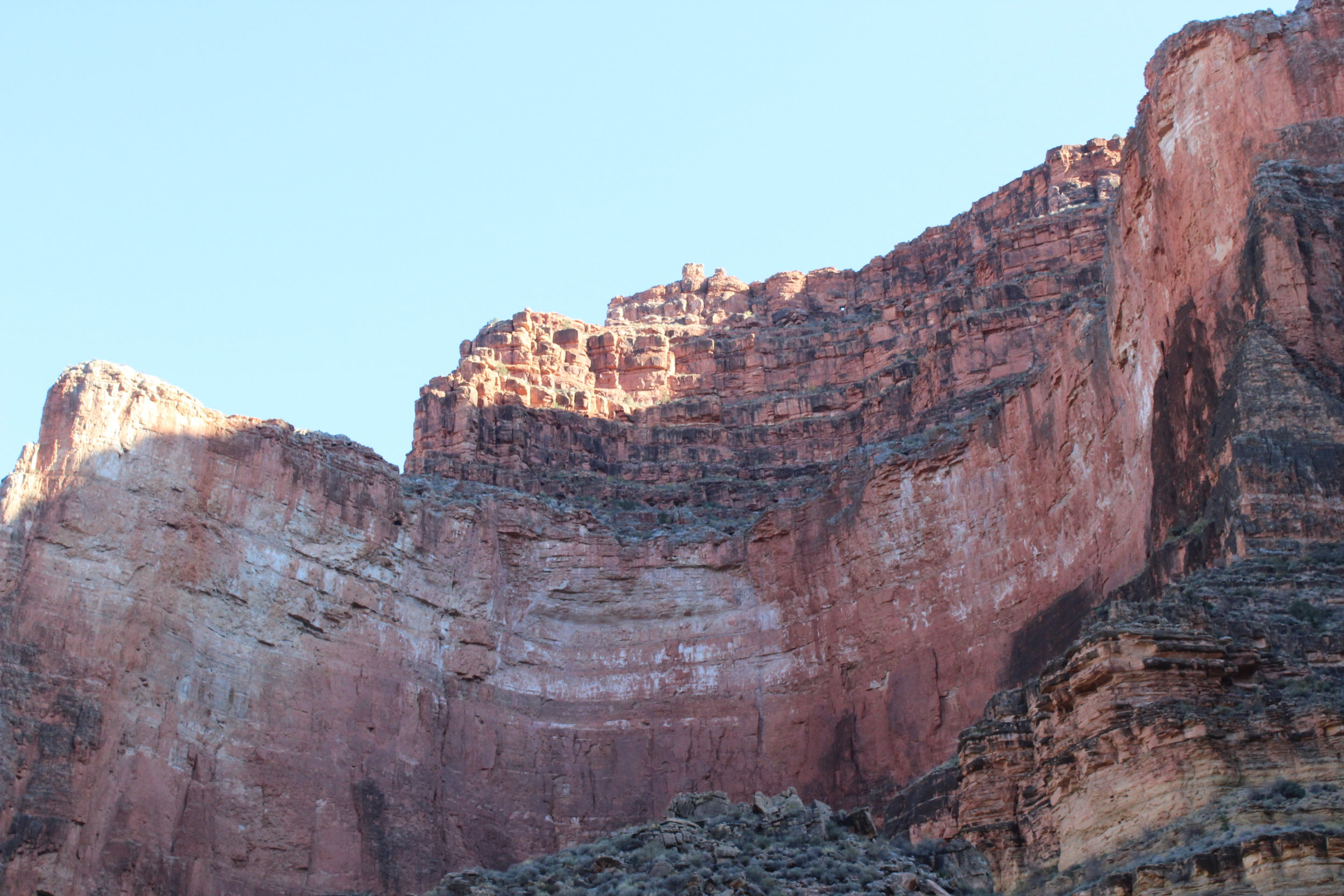 One of the massive ampitheaters in the Redwall Layer