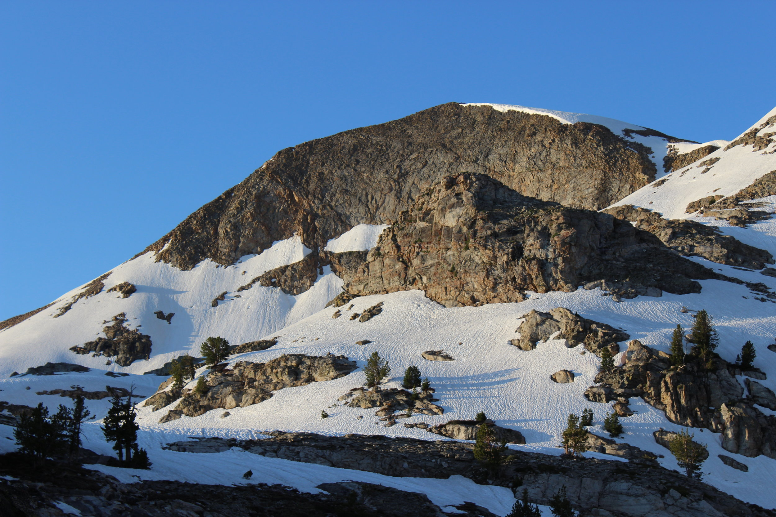 Ruby dome from the lower saddle.