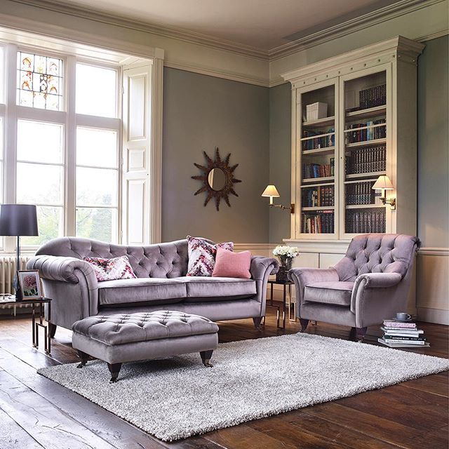 We shot these beautiful sofas on location for mail order company Kirkdale #upholstery #furnituredesign #furniture #sofa #location #interiordesign