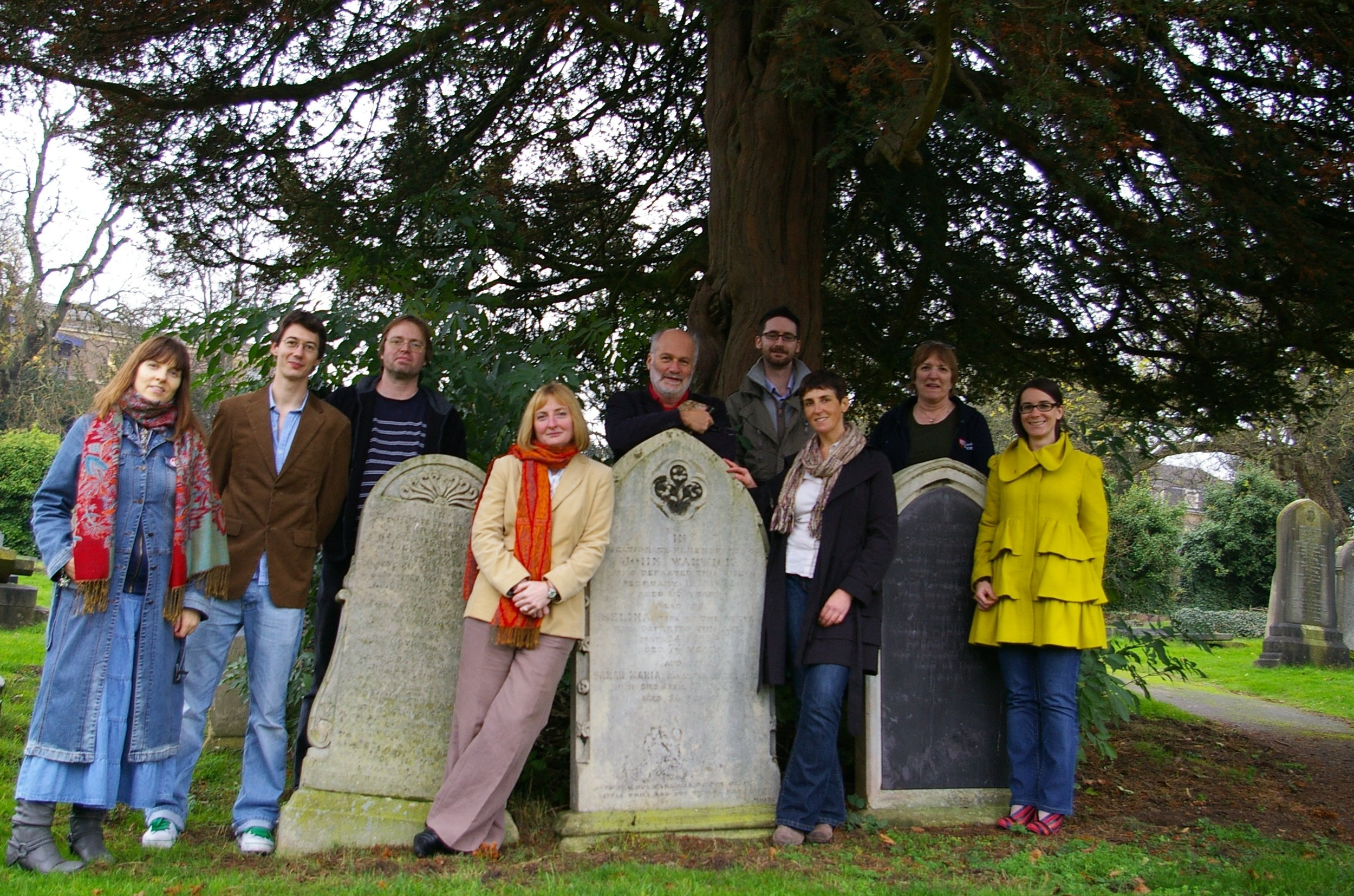 The team (l-r): Shane, Richard, Stephanie (our former Administrator), Owen, Elizabeth, Zoe, Pete, Sarah, Francesca. Floris, Rachel and Emma are not in this photo.