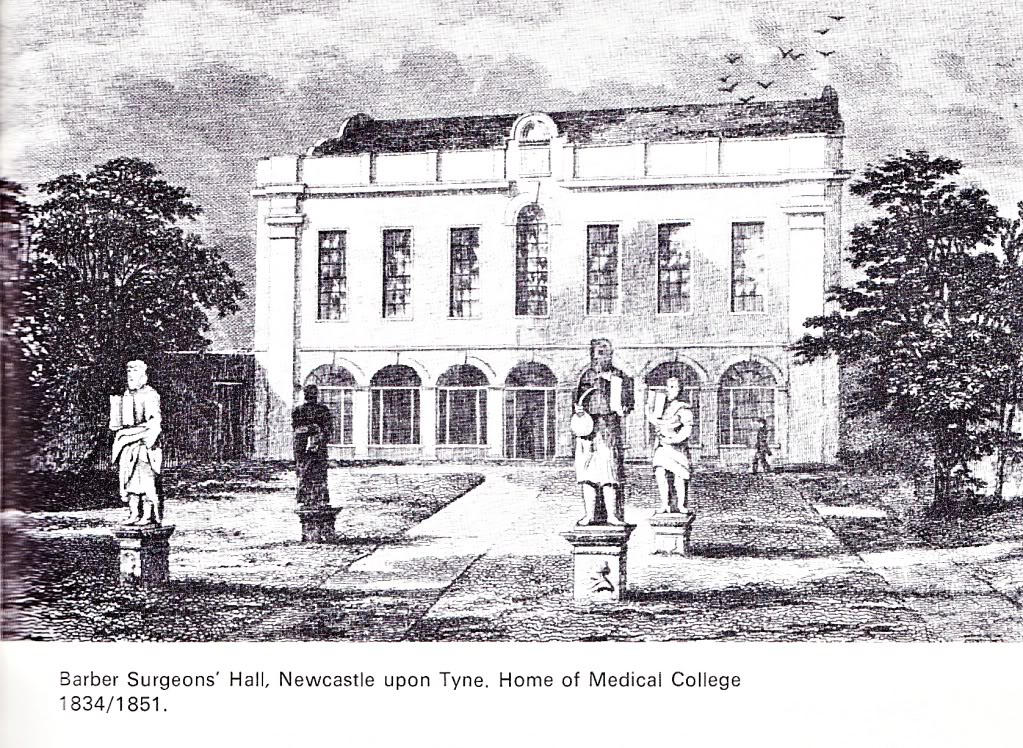 Newcastle Barber Surgeon's Hall