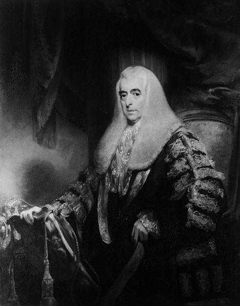 Portrait of Alexander Wedderburn, 1st Earl of Rosslyn (1733-1805). Image Courtesy of  Wikimedia Commons