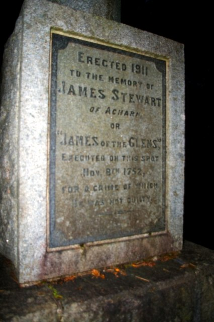 James Stewart's monument erected in 1911. Image Author James Yardley.  Image from Wikimedia Commons under Creative Commons Licence.