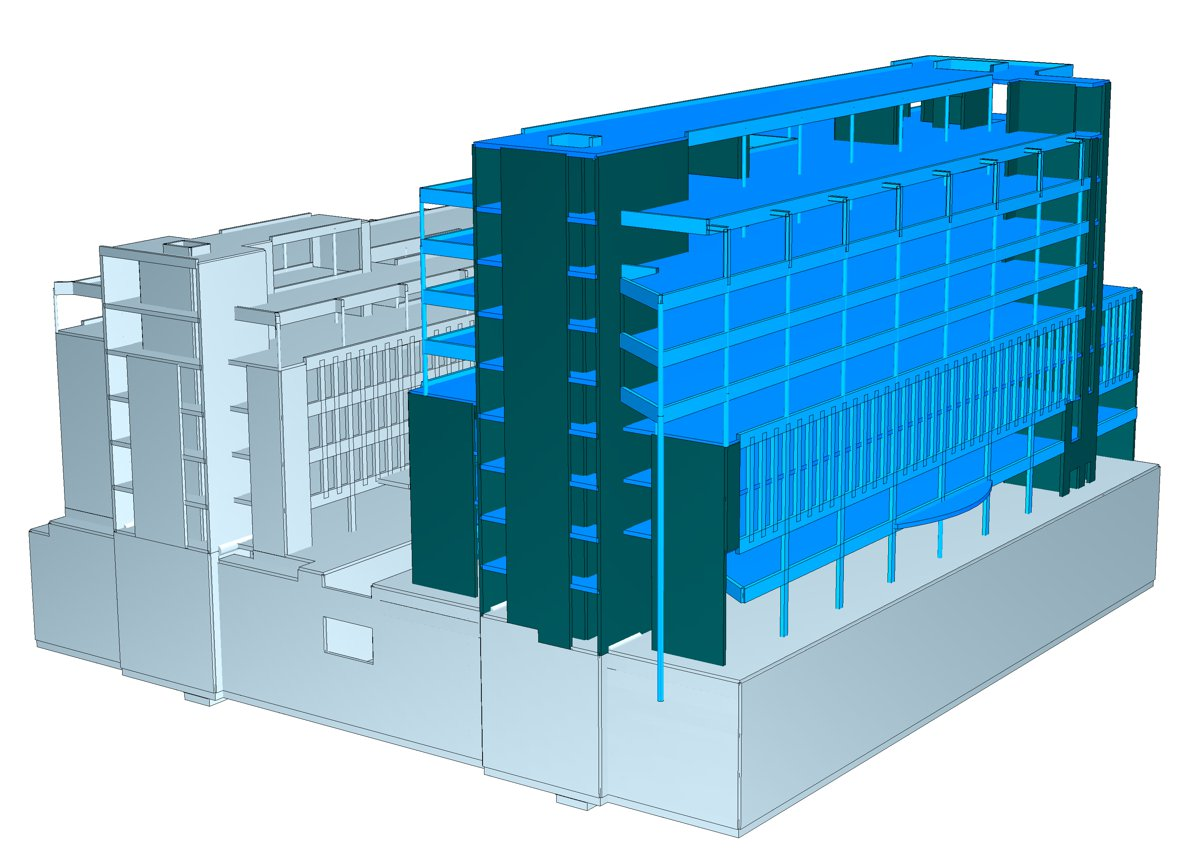 An example of a BIM model.