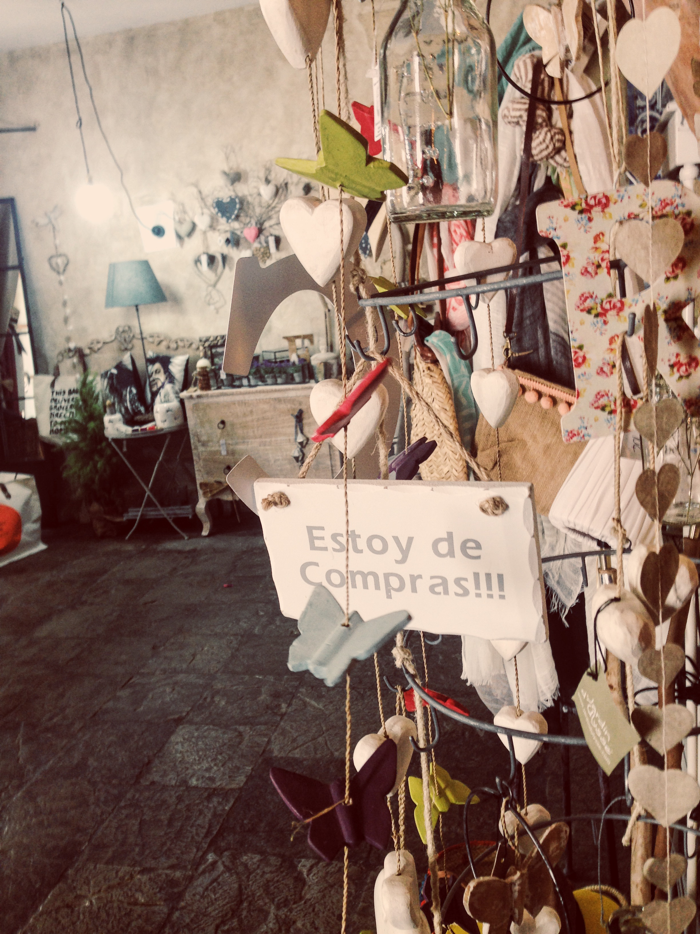 A ton of artsy stores selling handmade goodies, from locally sourced products