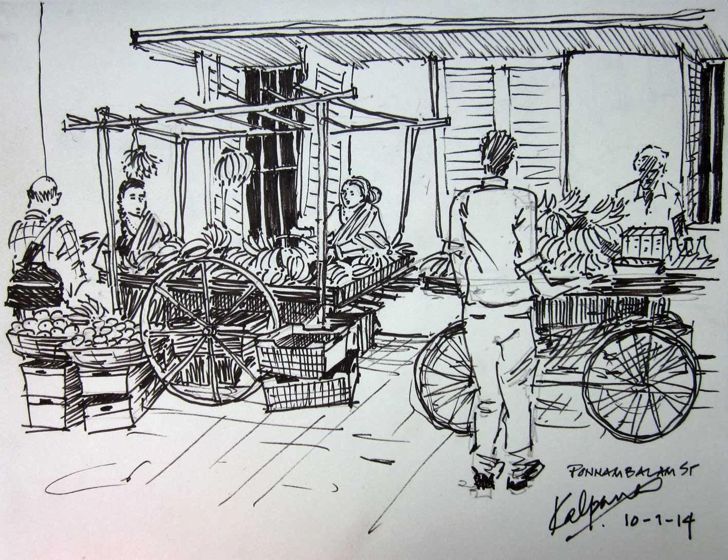 Illustration Credit - Kalpana Balaji (http://kalpanabalaji.blogspot.in)