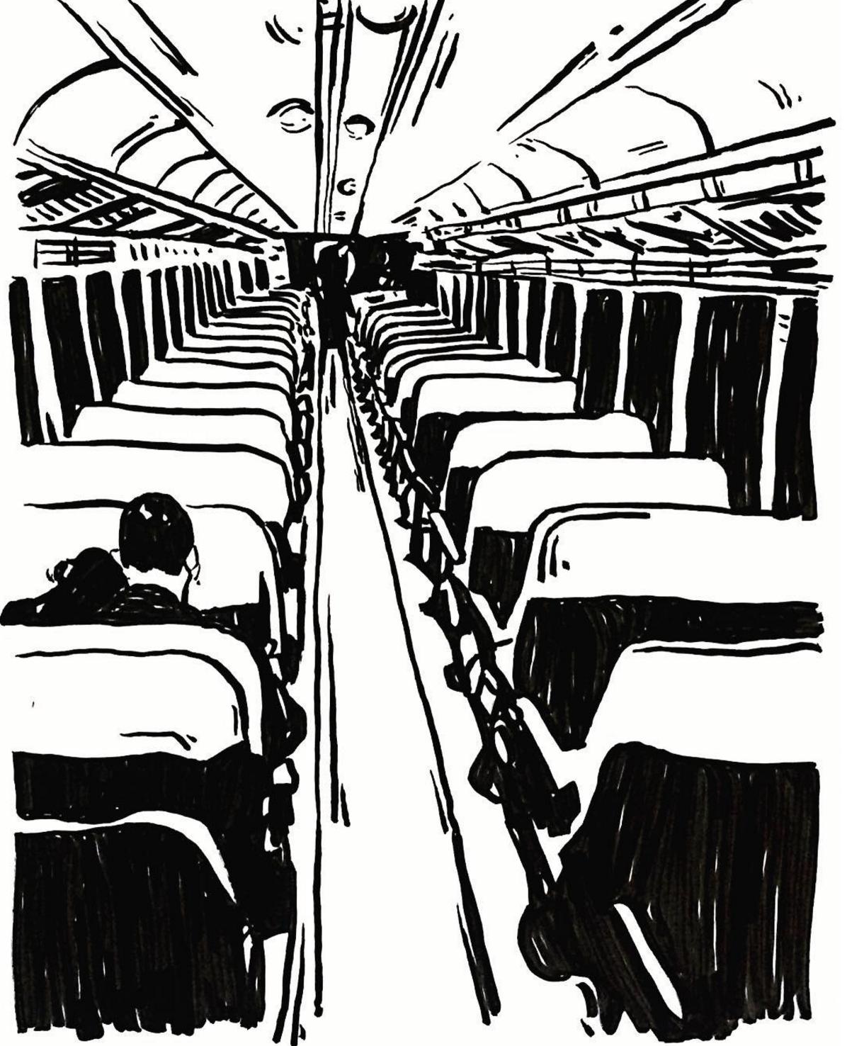 Bus ride,  by Radhika Sivsankar
