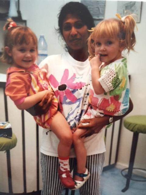 From left to right: myself, Chandra and my childhood friend