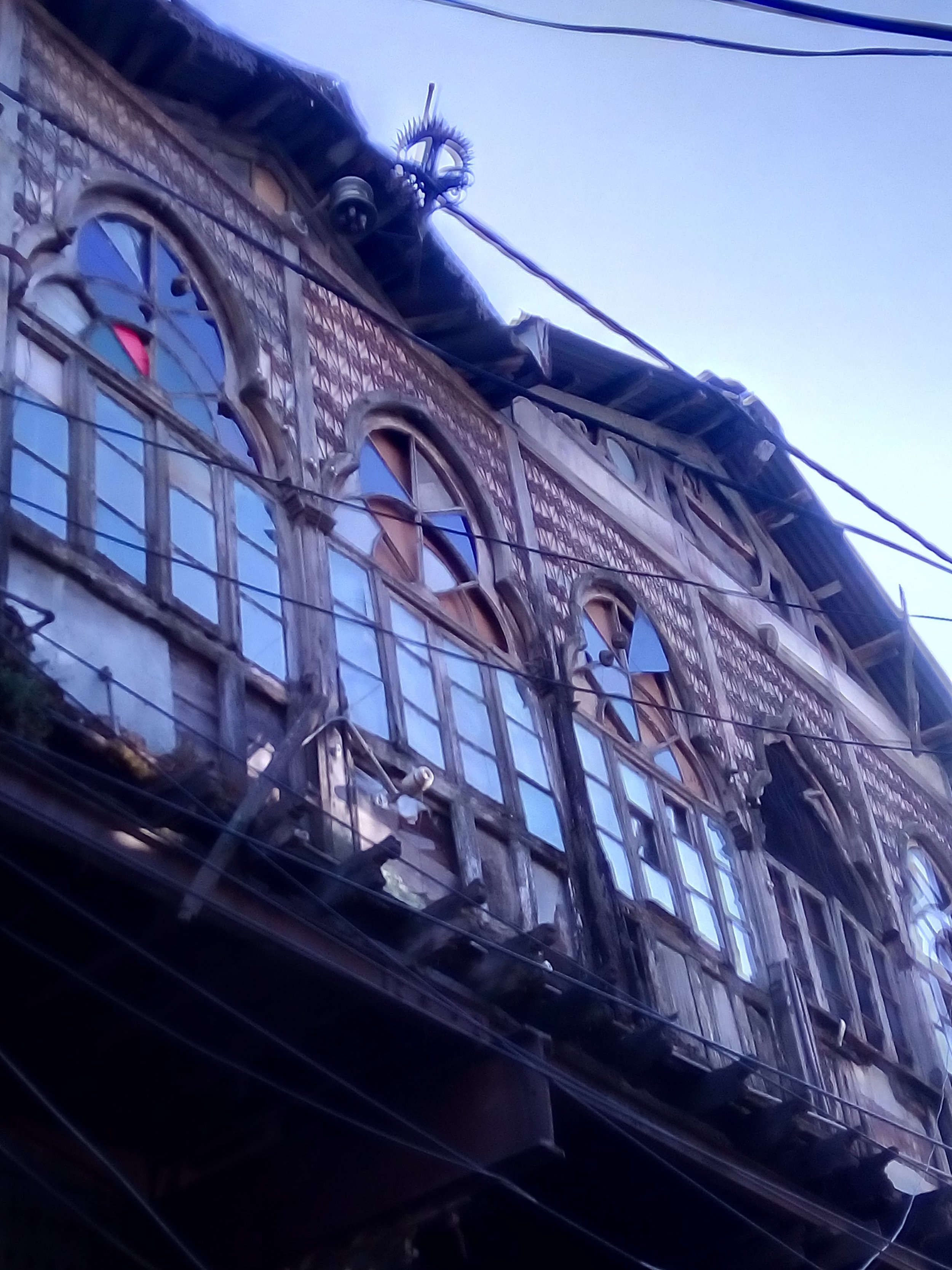 A view of the ramshackle Kohinoor building