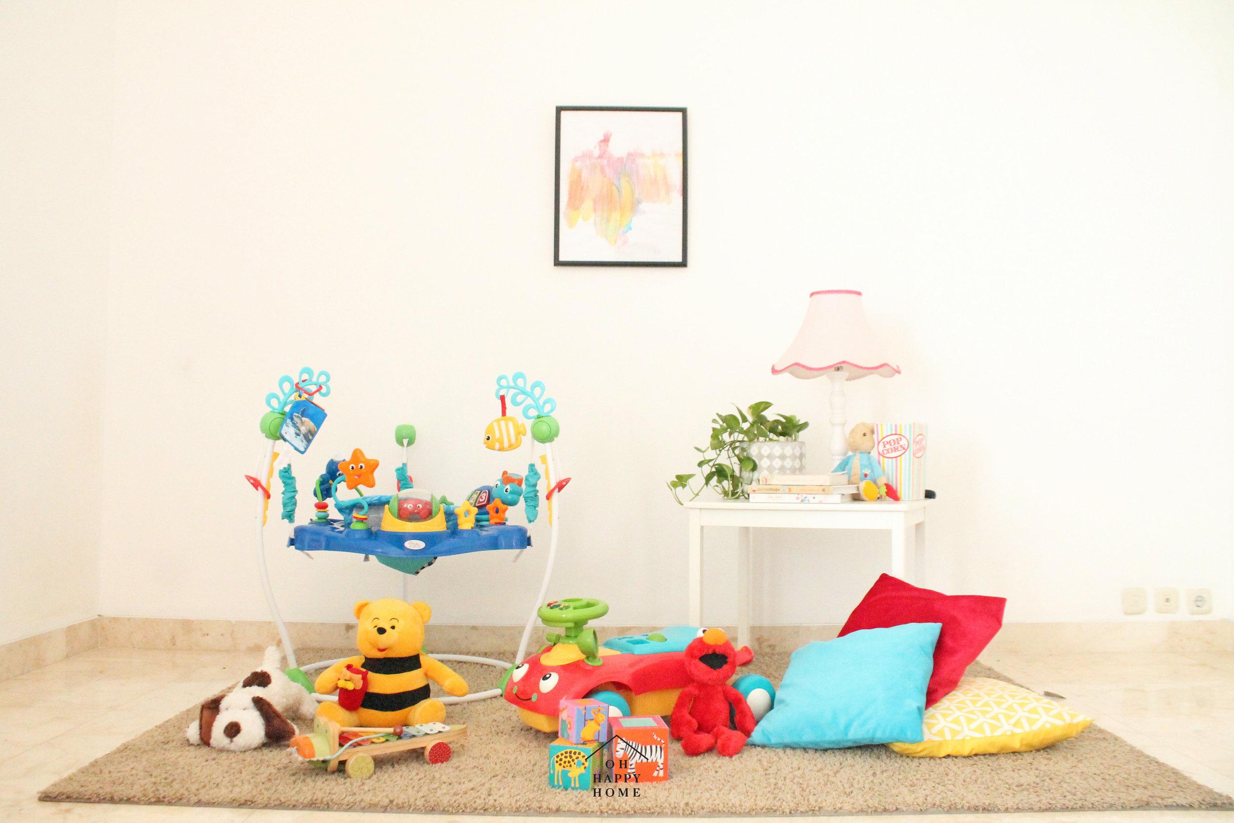 Inspirasi Playroom untuk Toddler