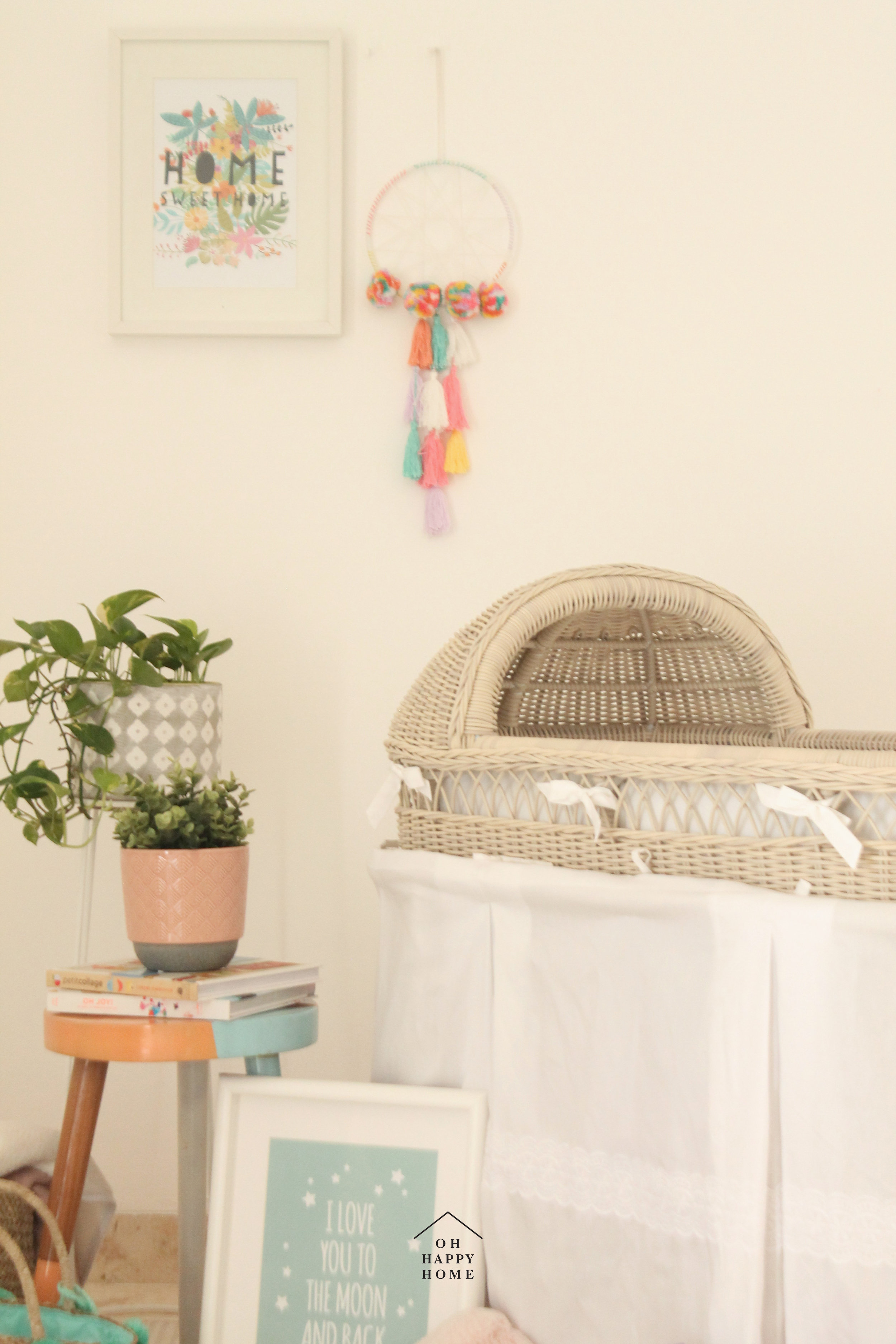 Moses Basket by La Cottonier - Available at Babyloania