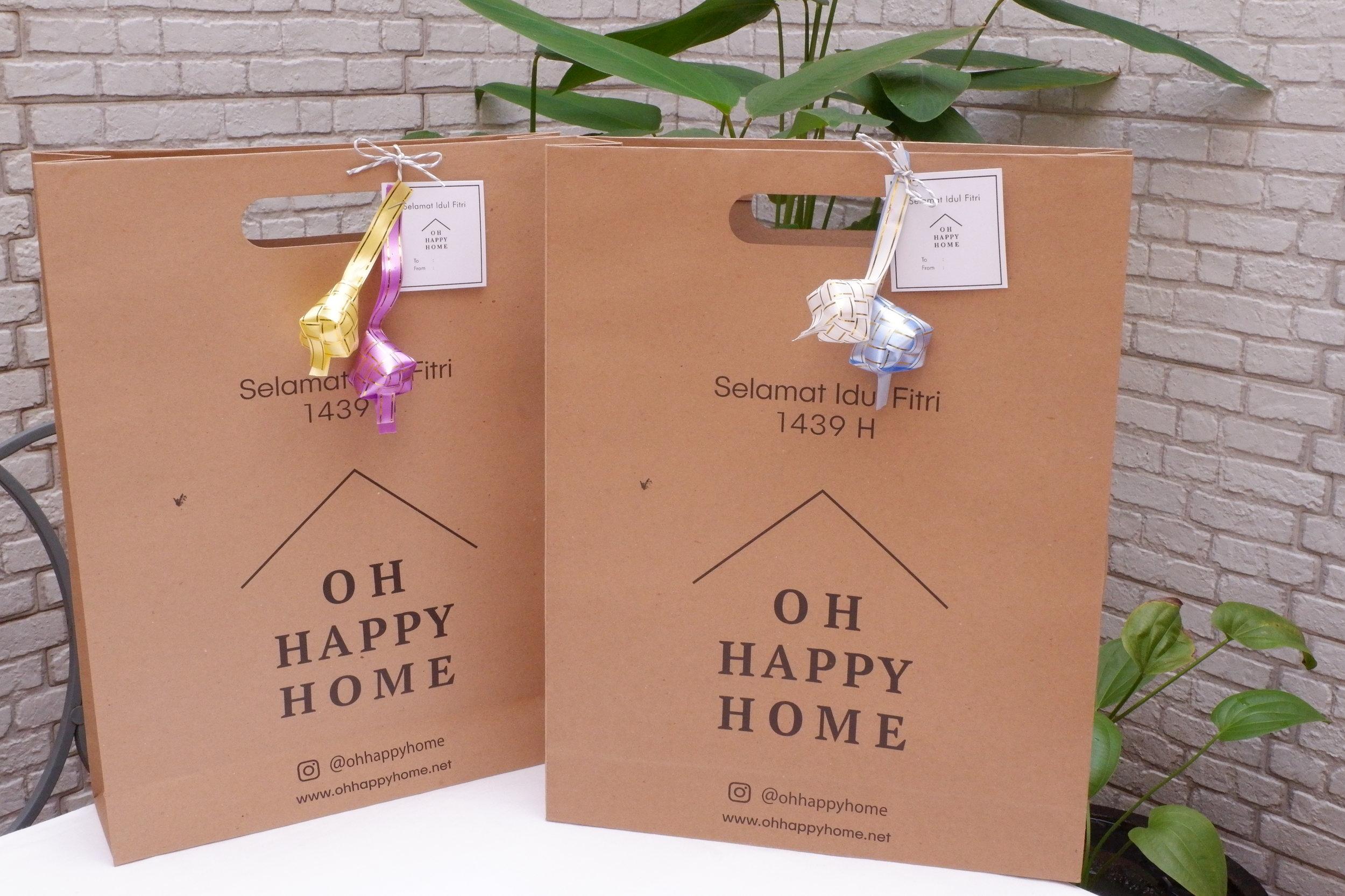 Hampers Lebaran dari Oh Happy Home siap mempercantik rumahmu.