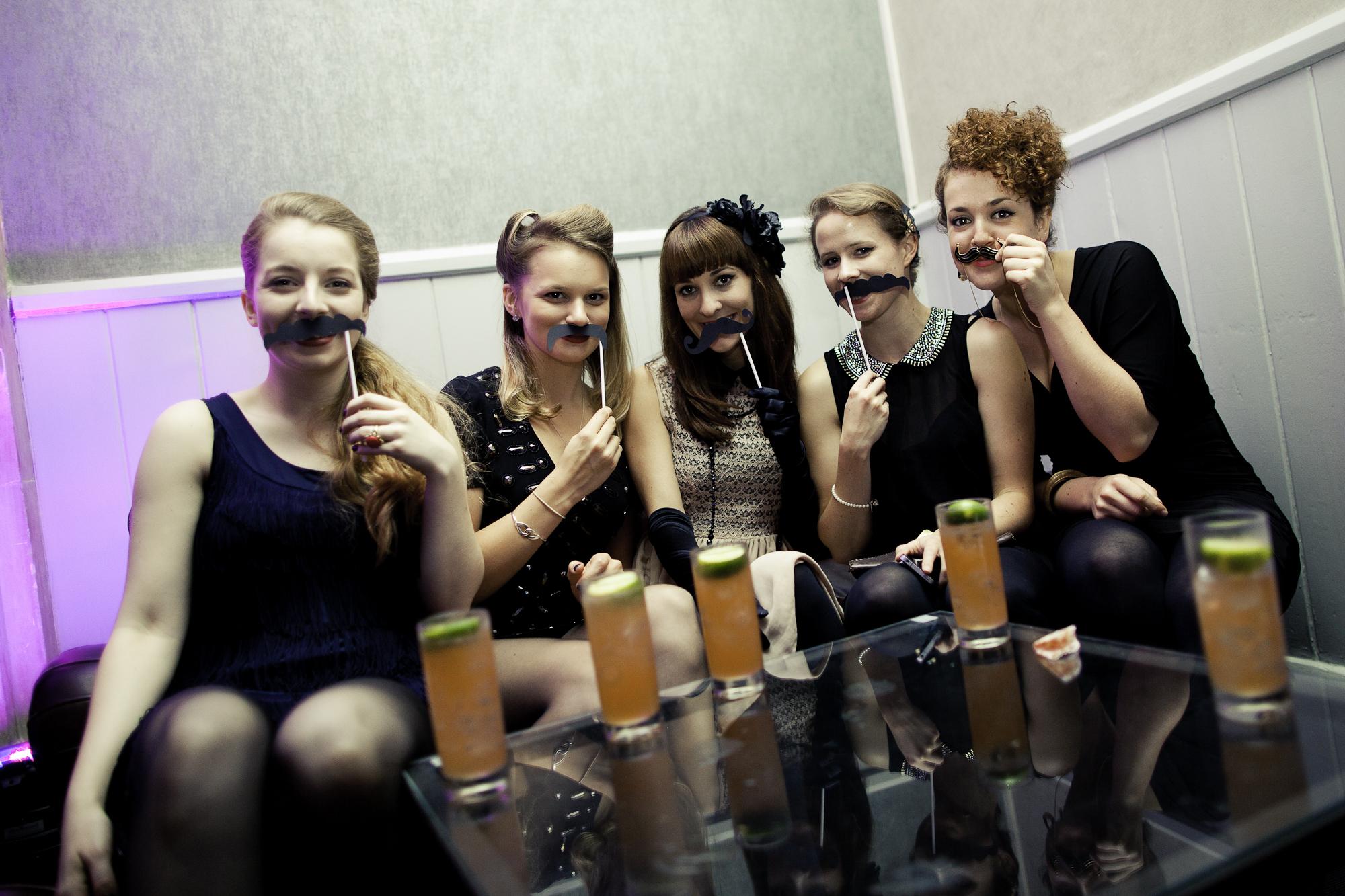 Lipstick & Moustaches
