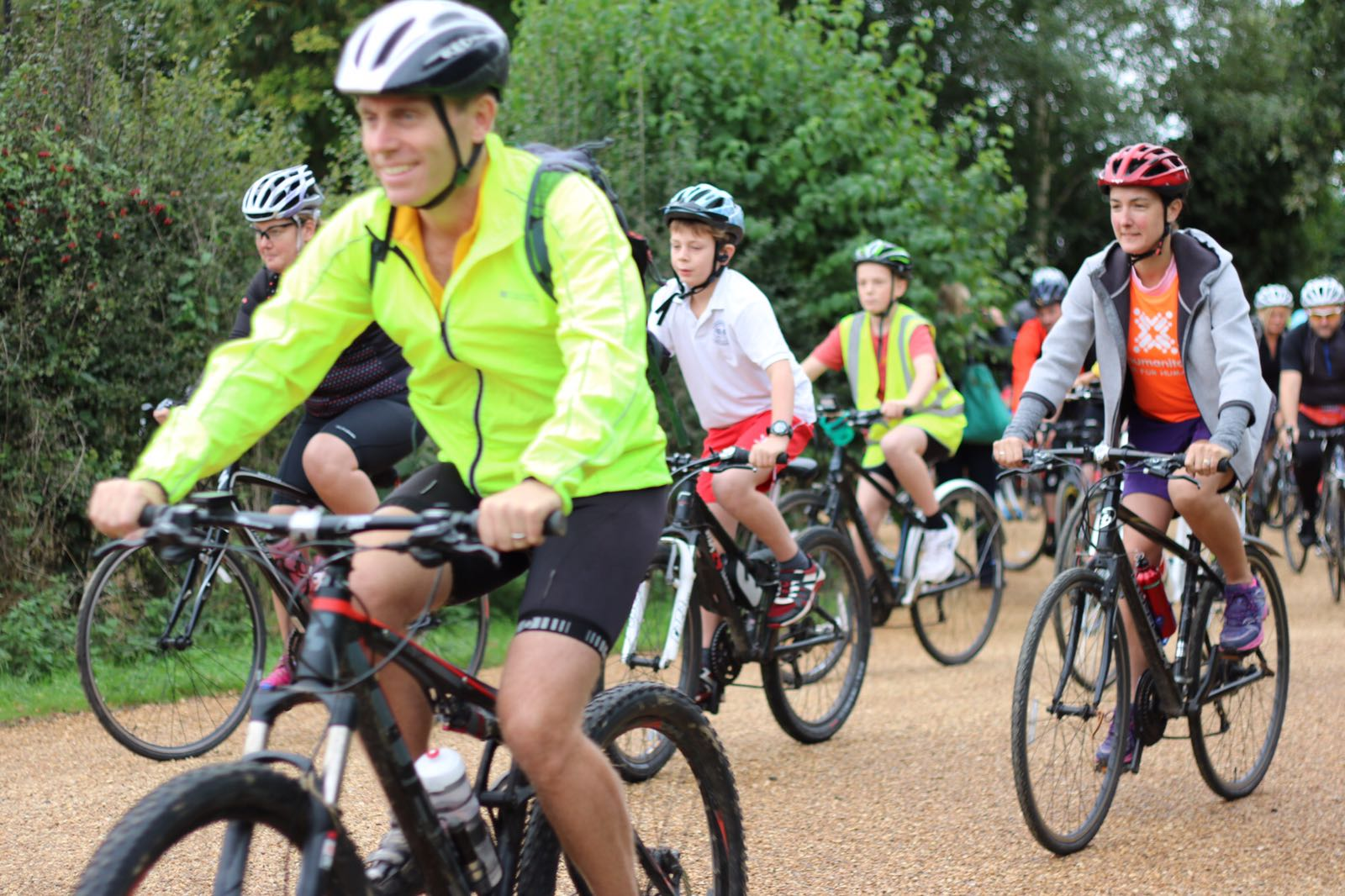 Date: 21st September  Location: The Priory School, Hitchin  Entrance: Adult rider £30 | Child rider £10 (under 16)  Routes: 10, 27 and 75 miles  Suggested min sponsorship: £100