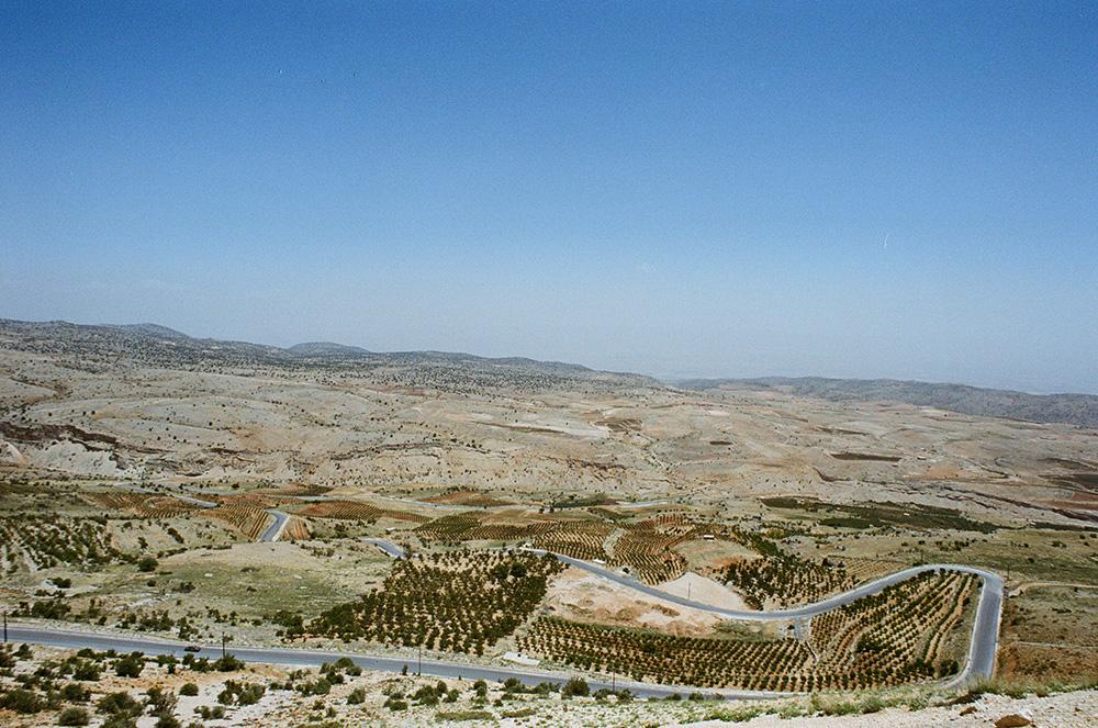 "Part of "" Lebanon on the Road: A Visual Atlas of the Lebanese Landscape "" 2015-2017  2016 Nikon Fm2n - Nikon Ai-S 20mm f/3.5 Ektar 100 35mm film"