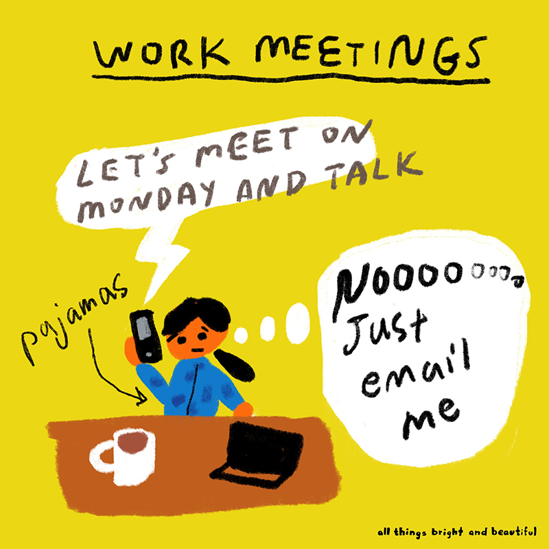Work meetings