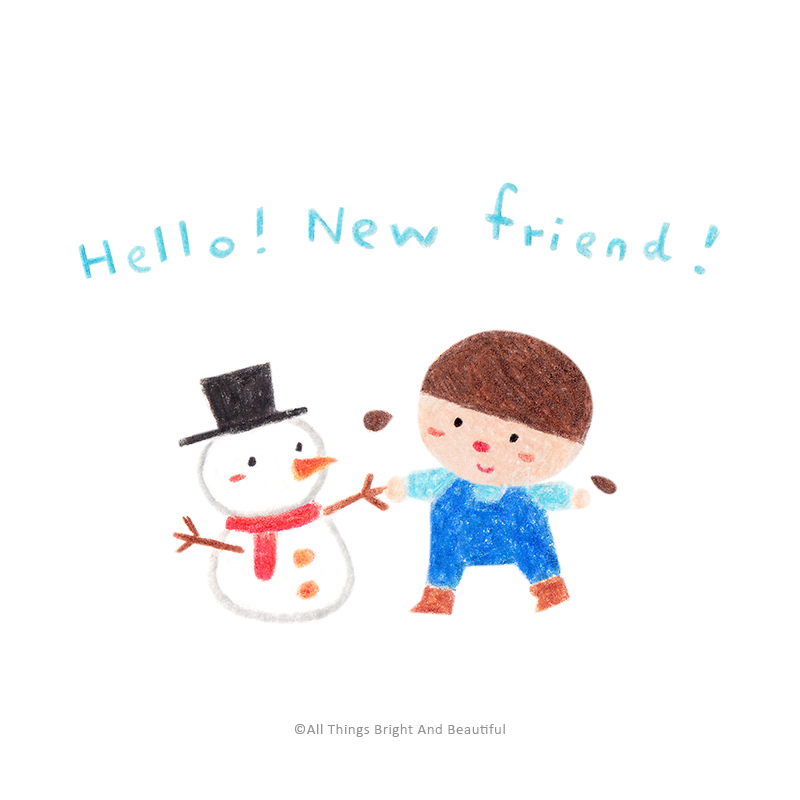 Hello! New friend!