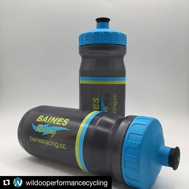 Our new #bainseybottles will be landing to today and we cant wait to see them out in the wild!! Big props to @wildooperformancecycling for doing such a sterling job.  #fromwhereiride #wymtm #bainesracing #pedalsandpistons #bidons