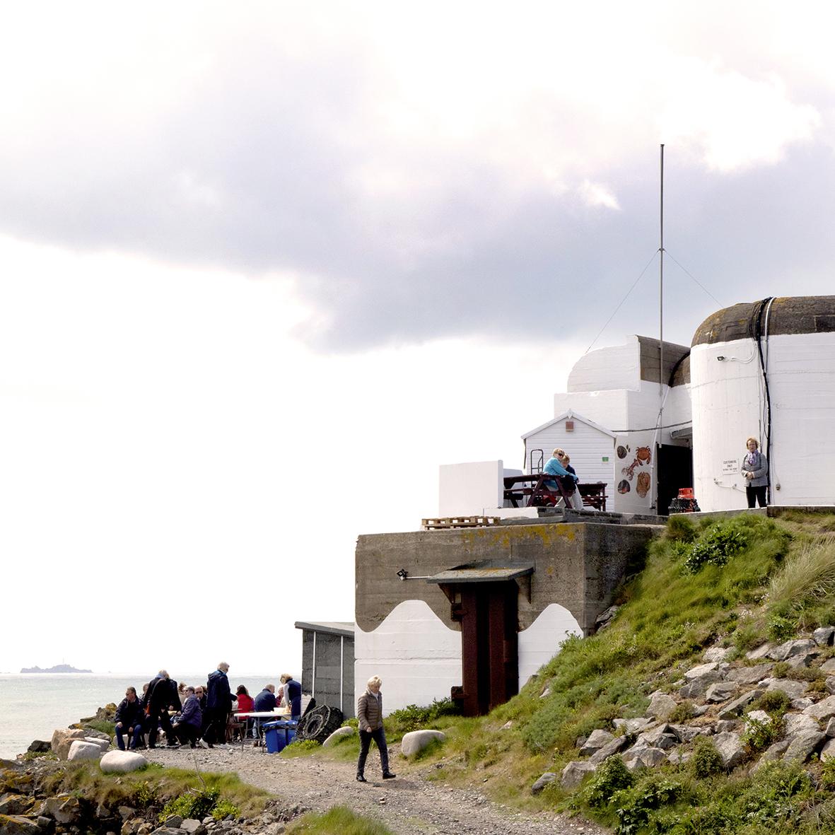Faulkner Fisheries oftewel een serieuze upgrade voor één van de vele bunkers op het eiland.
