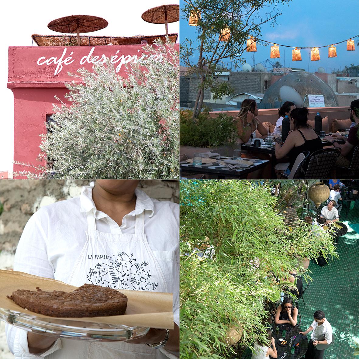 Café des épices, Nomad, La Famille, Le jardin.