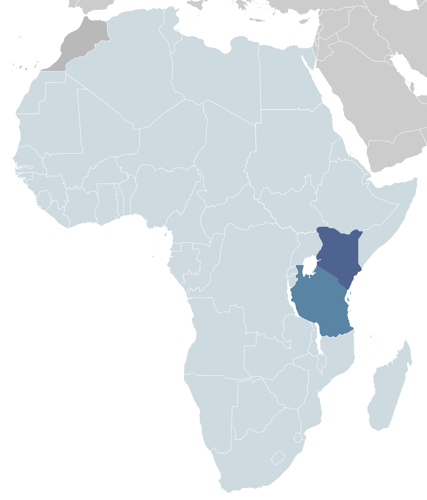 Projects in Kenya and Tanzania