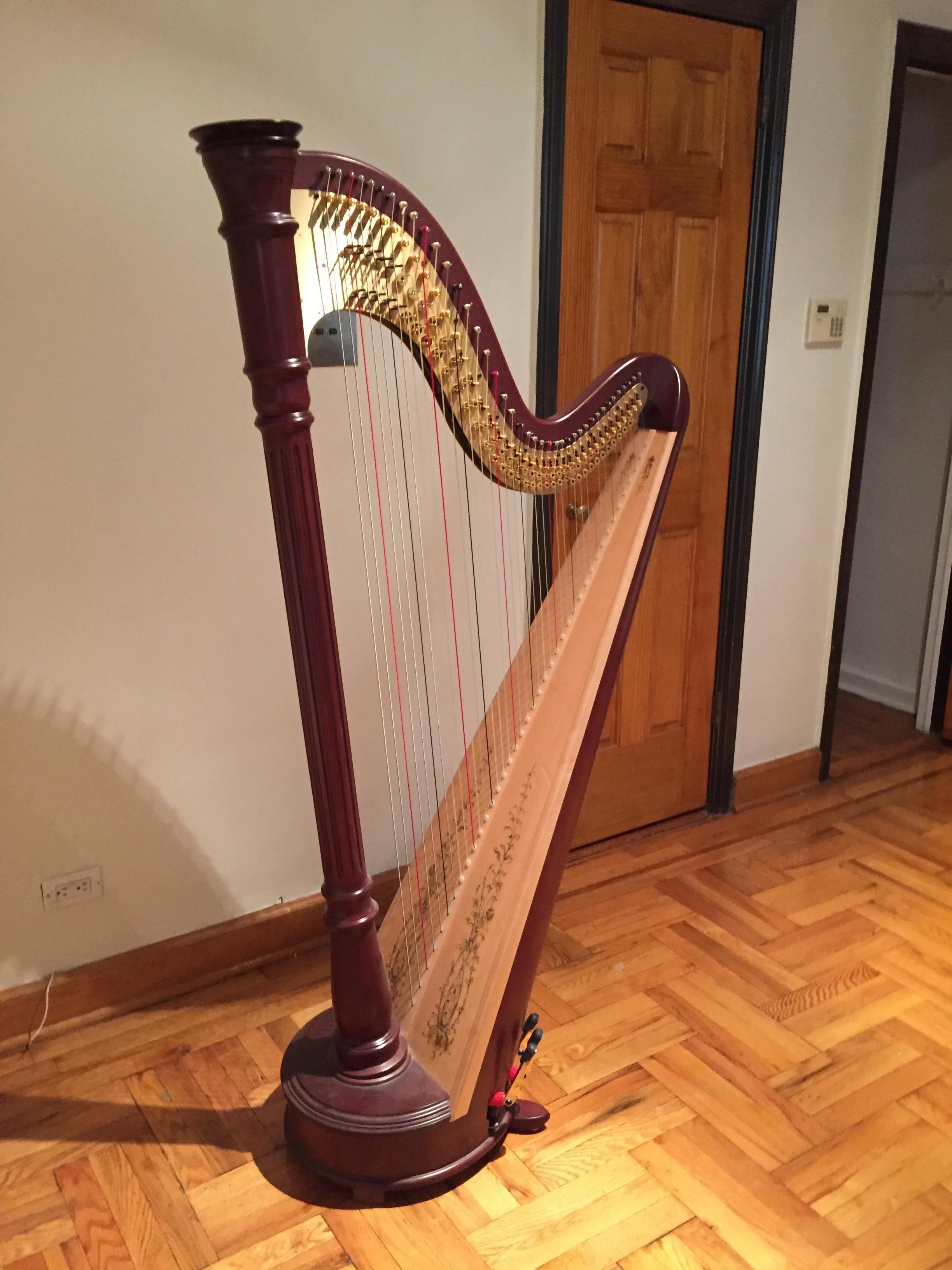 My beautiful harp
