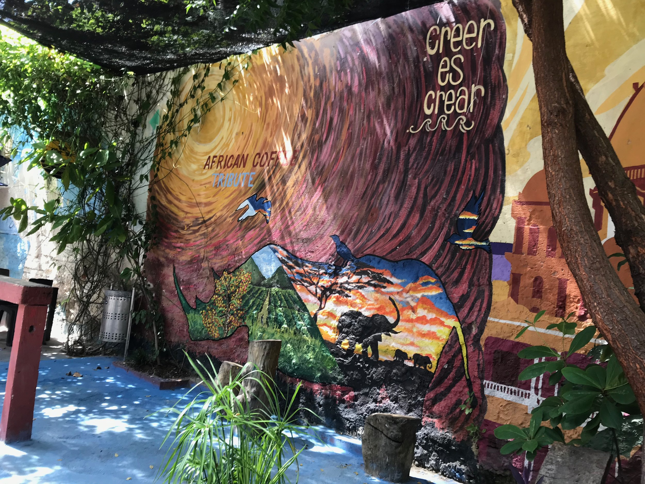 Getsemaní mural