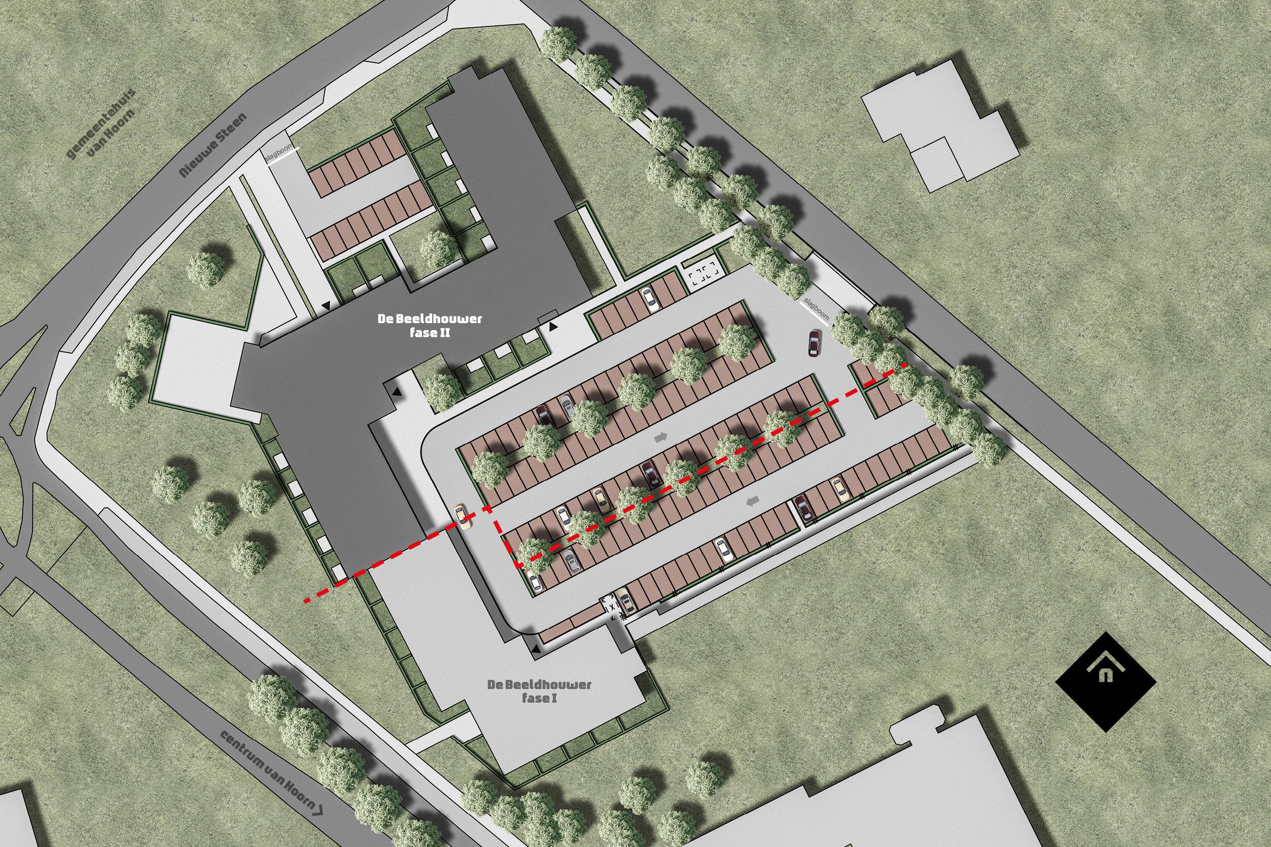Locatie koopwoningen De Beeldhouwer fase II in Hoorn