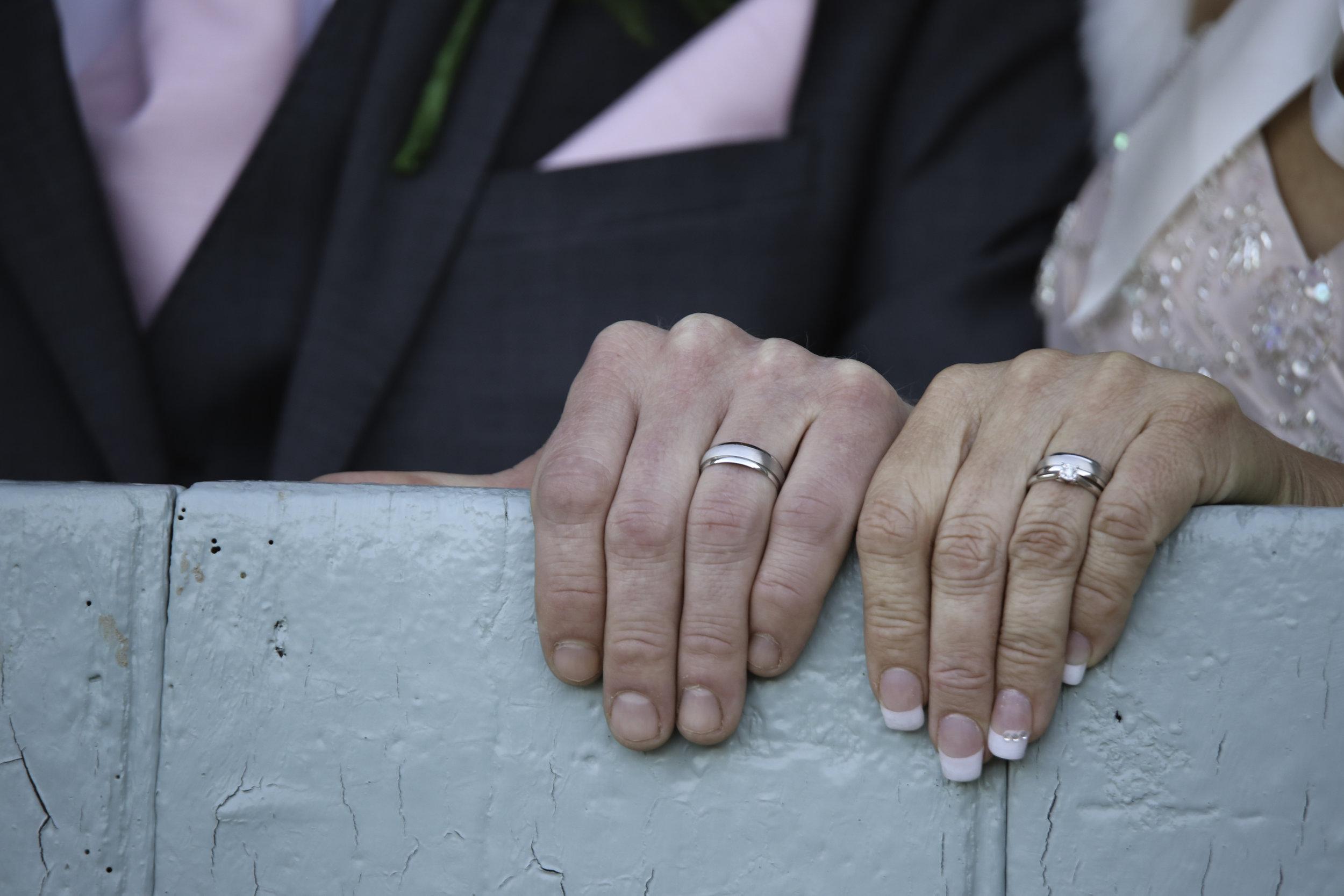 My first paid wedding