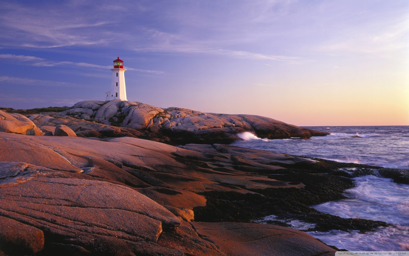 LIght house at Peggy's Cove, Nova Scotia