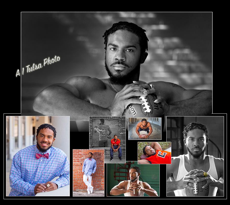 Tulsa senior boy portraits