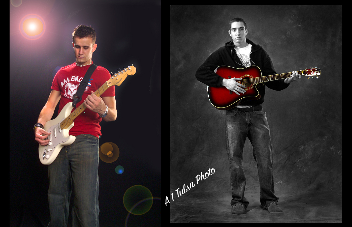 Creative senior portraits for Tulsa Oklahoma boys