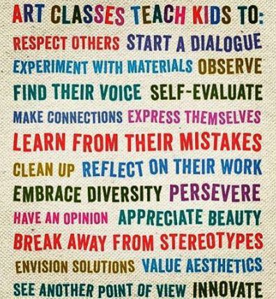 Art is so very important to the growth of young minds!