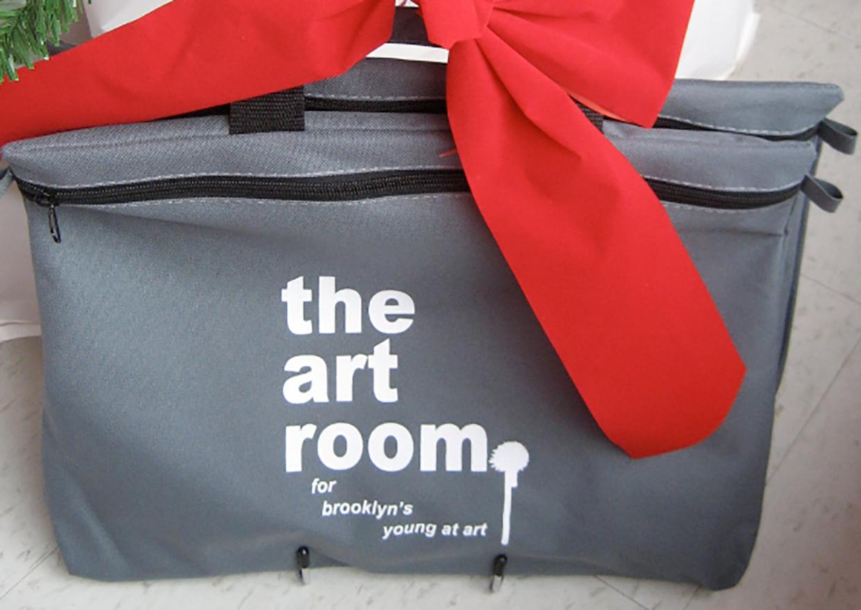 Portfolio bag.    Purchase your Art Room portfolio bag     here    !
