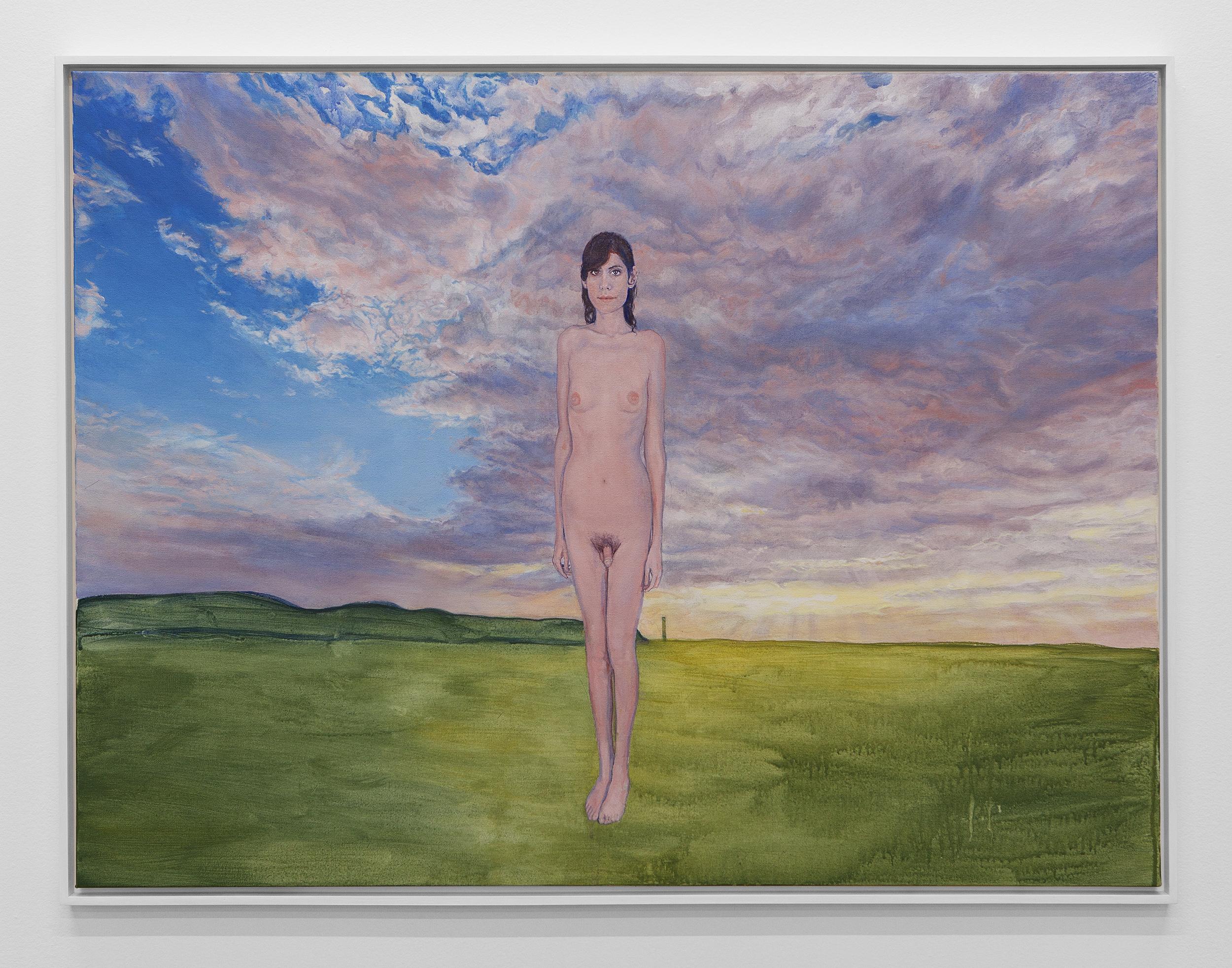 Standing (Self Portrait)