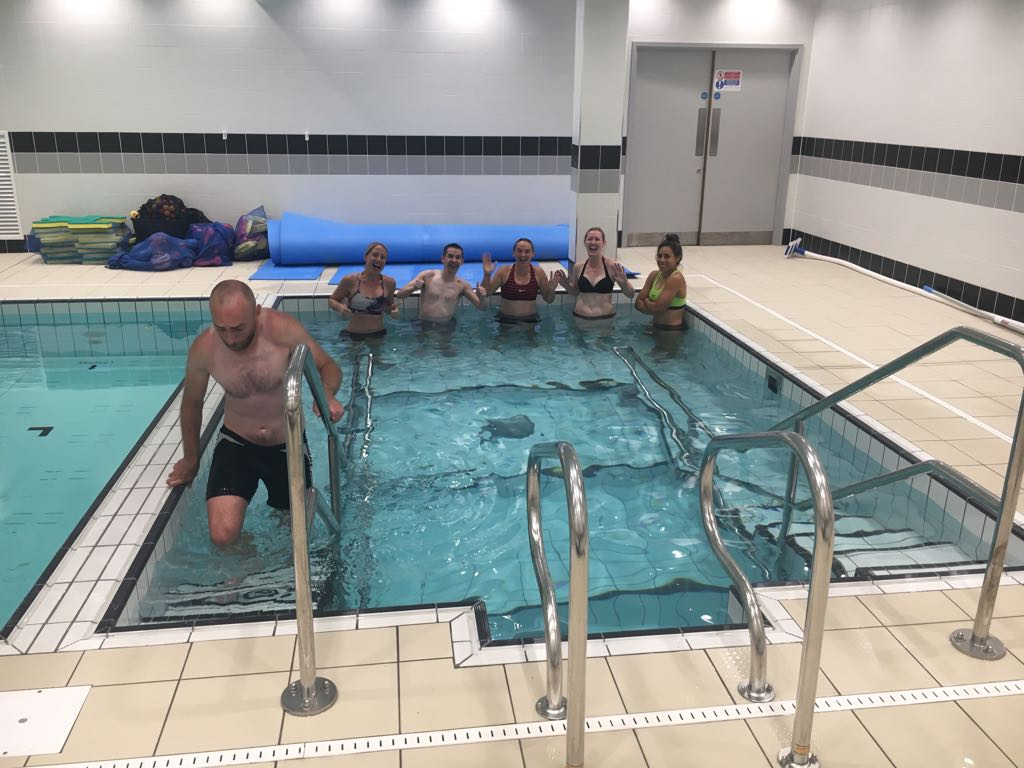 Team Ireland Ice Bath | Grace Brown Fitness London